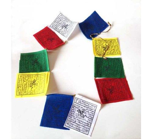 Tibetaanse Gebedsvlaggen - horizontaal  - middel