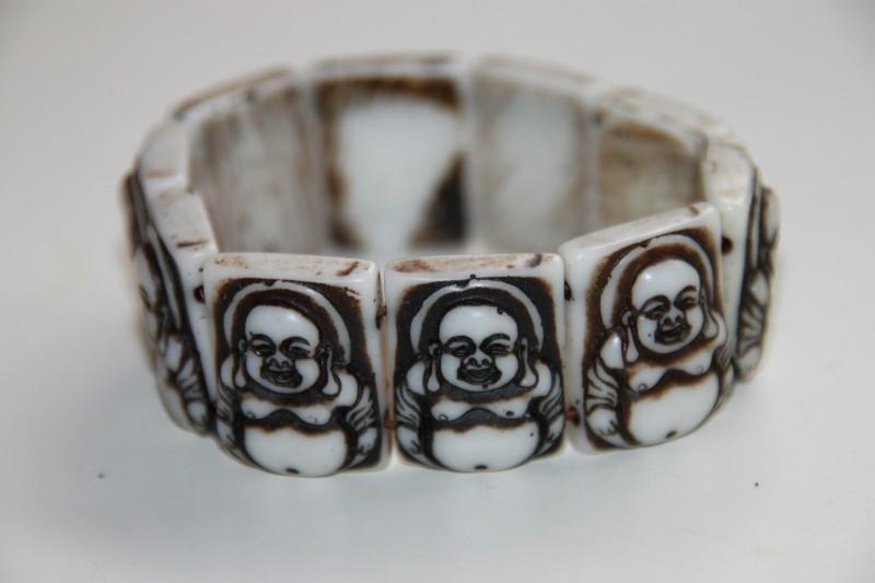 Unieke boeddha armband