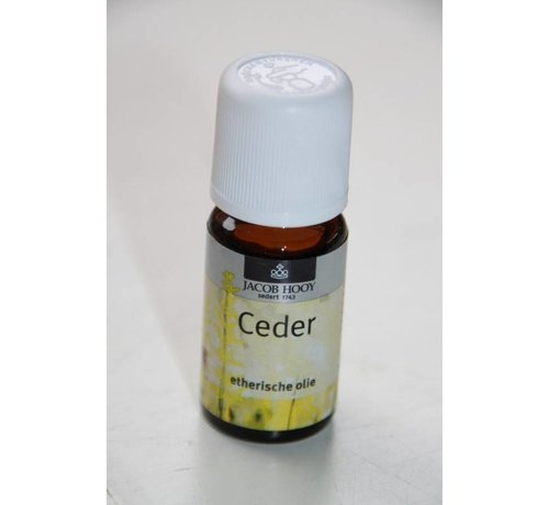 Jacob Hooy Ceder olie 10 ml - Jacob Hooy