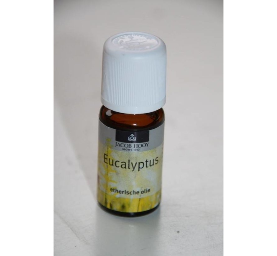 Eucalyptus olie 10 ml - Jacob Hooy