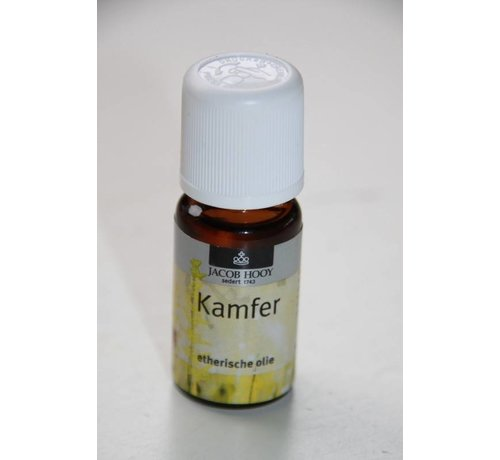 Jacob Hooy Kamfer olie 10 ml - Jacob Hooy