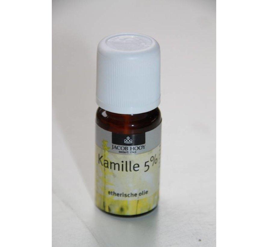Kamille 5 % olie 10 ml - Jacob Hooy