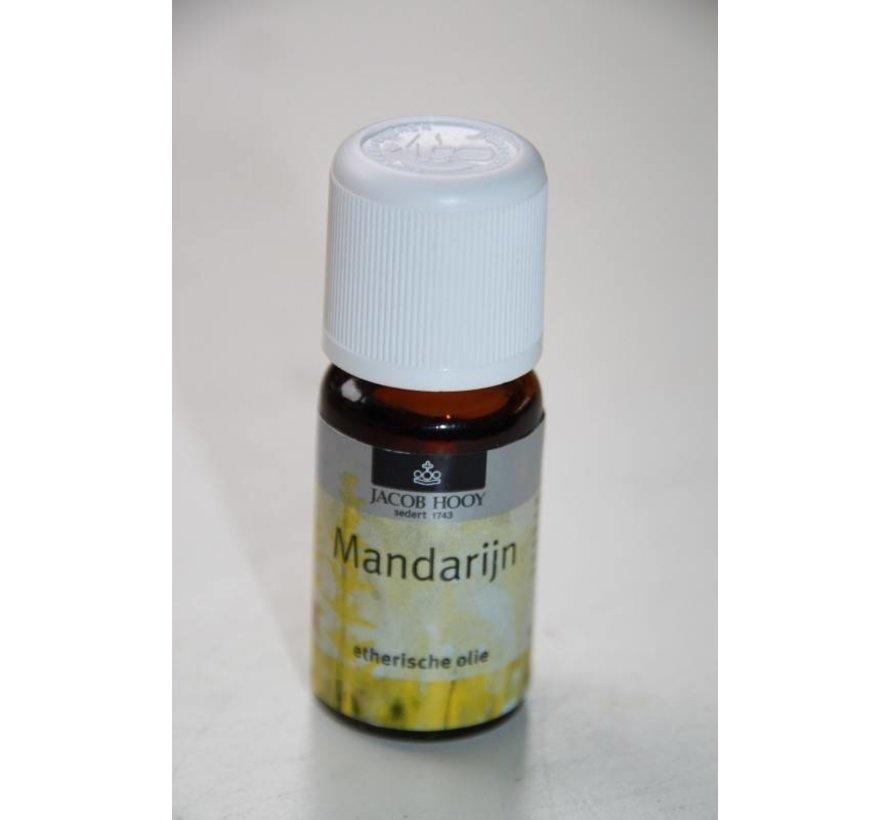 Mandarijn olie 10 ml - Jacob Hooy