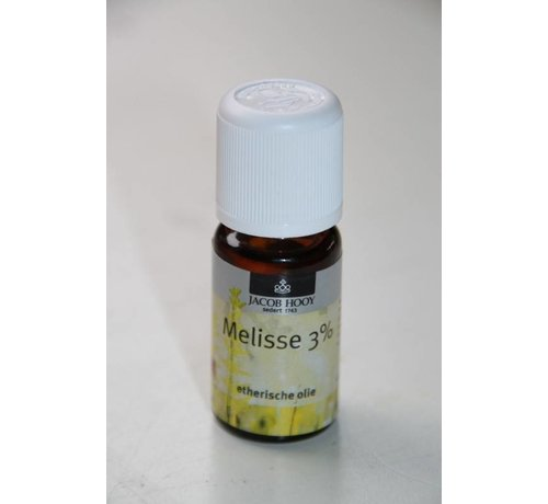 Jacob Hooy Melisse 3 % olie 10 ml - Jacob Hooy