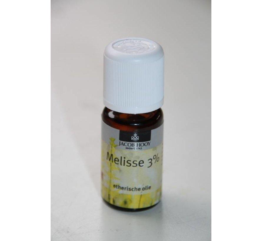Melisse 3 % olie 10 ml - Jacob Hooy