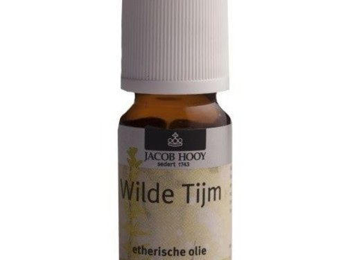 Jacob Hooy Wilde Tijm olie 10 ml - Jacob Hooy