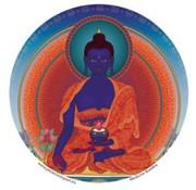 Raamsticker Medicijnboeddha