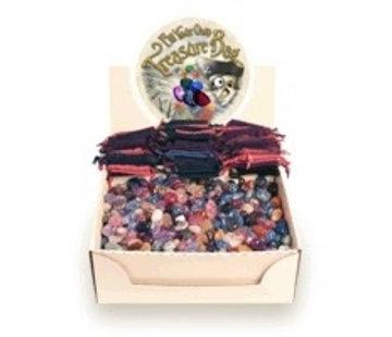 Buideltje met schatkamer mix - Oud roze buideltje