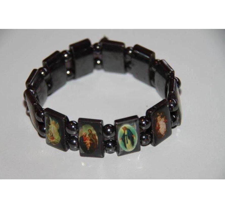 Hematiet armband Heiligen Kleur