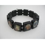 Armband Heiligen WIT of Zwart
