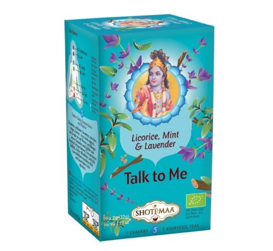 Talk to me - munt, zoethout & lavendel