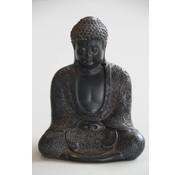Boeddha bewerkt (10 cm)