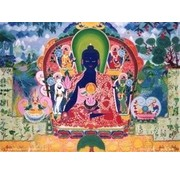 Medicijn Boeddha - reproductie op canvas