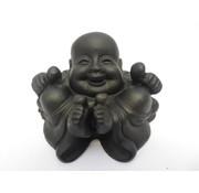 Succes Boeddha - Zwart