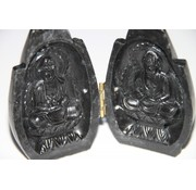 Boedda in handen zwart 2-luik