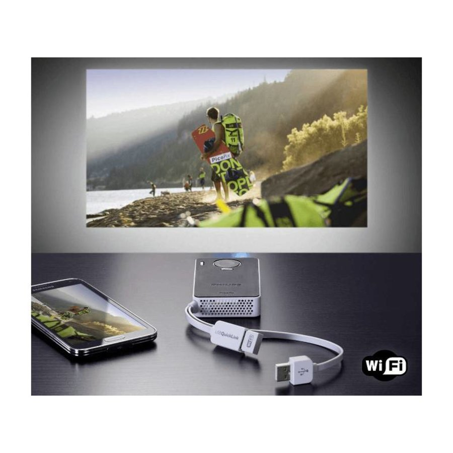 Philips PPX4350W zakprojector-6