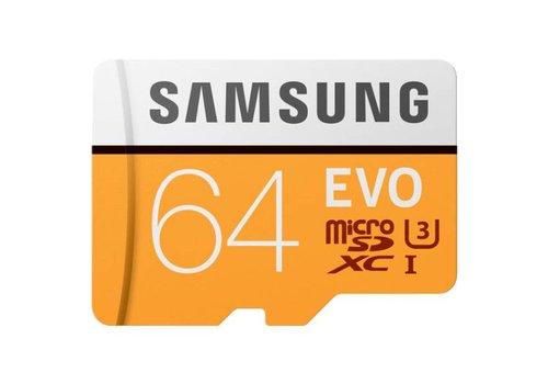 Samsung MicroSD Evo 64 GB geheugenkaart