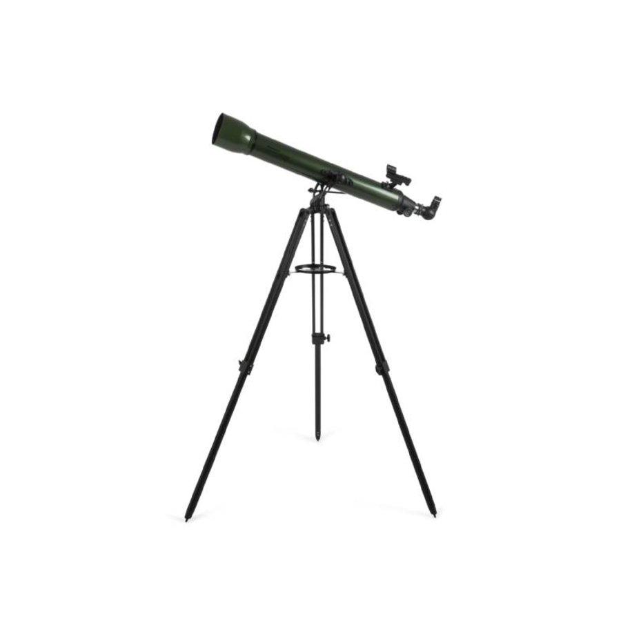 Celestron Explorascope 80AZ Olijfgroen-3