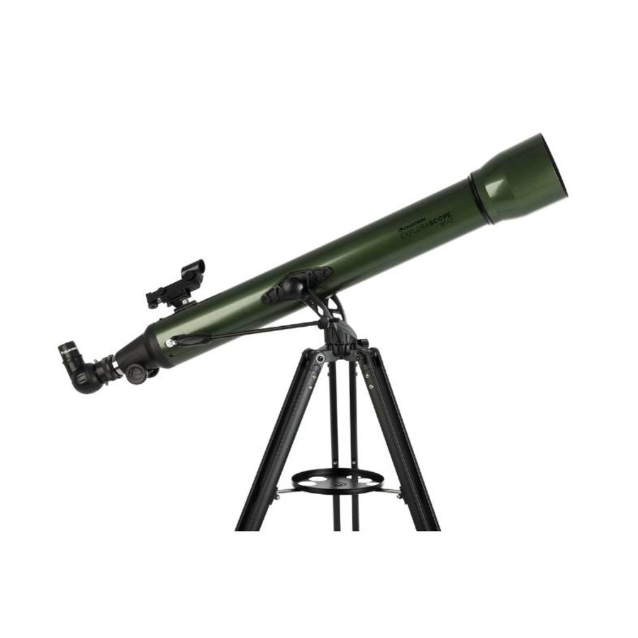 Celestron Explorascope 80AZ Olijfgroen-2