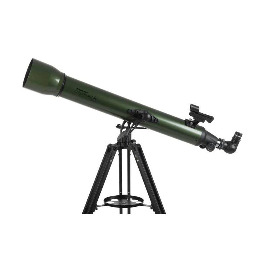 Celestron Explorascope 80AZ Olijfgroen-1