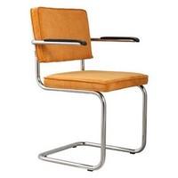 thumb-Ridge Rib stoel met armleuningen-3