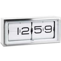 thumb-Brick clock stainless steel 24h-1