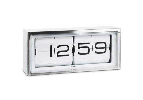 Brick Uhr Edelstahl 24h