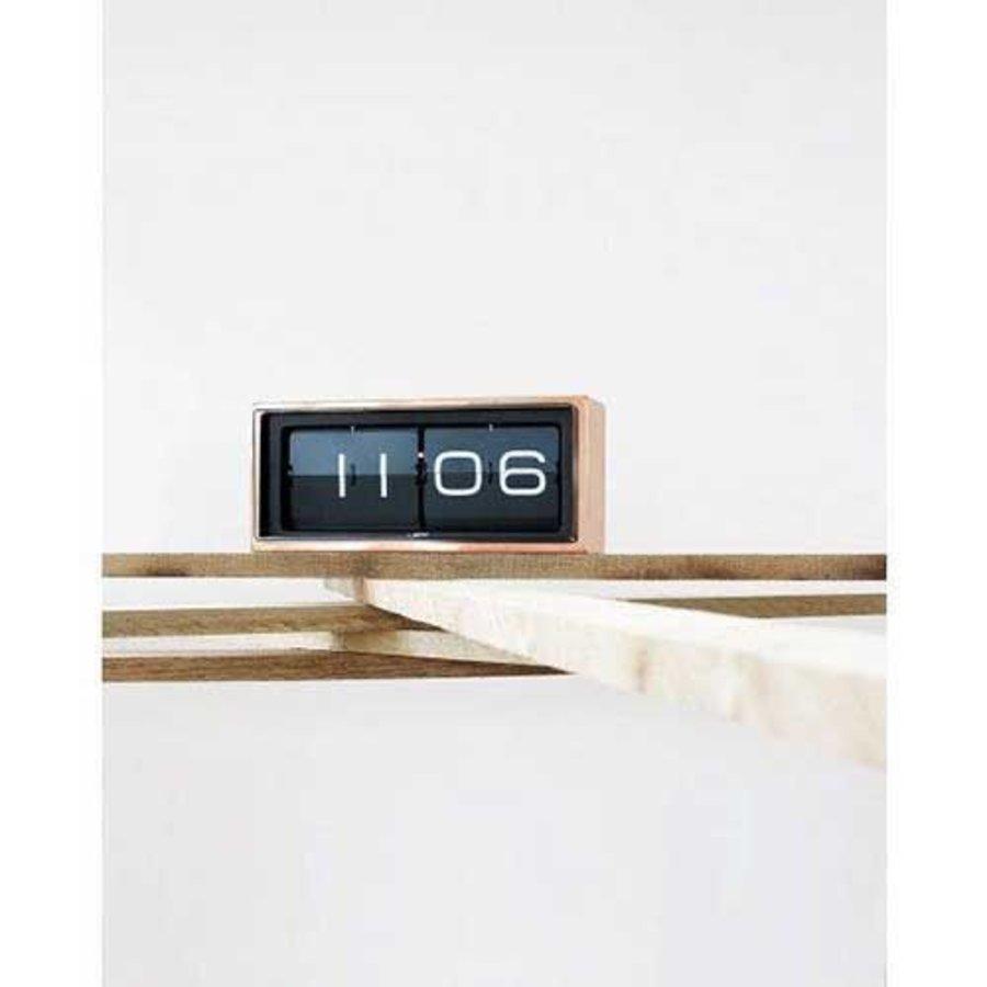 Brick clock stainless steel 24h-4