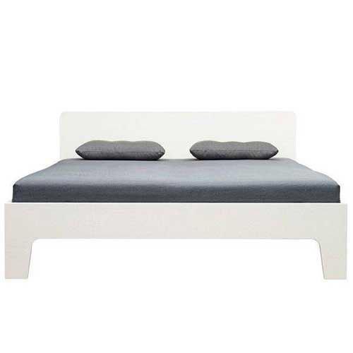 Loof Pure Bed met hoofdbord