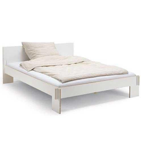 Siebenschläfer bed with headboard