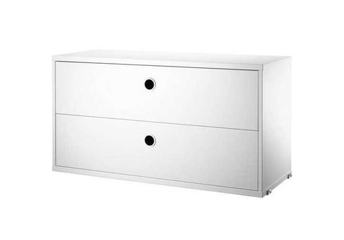 Cabinet with two drawers
