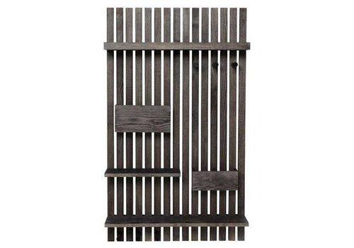 Ferm Living Wooden organizer wall shelf