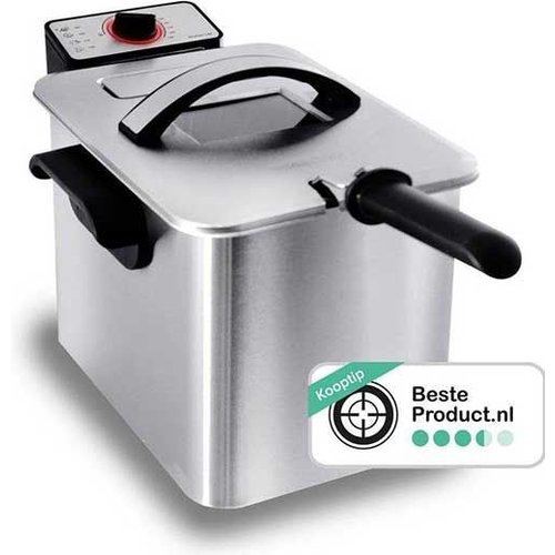 Fryer with cold zone