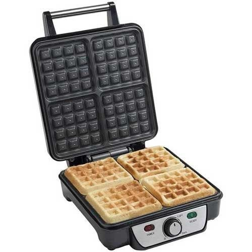 Power supply waffle maker