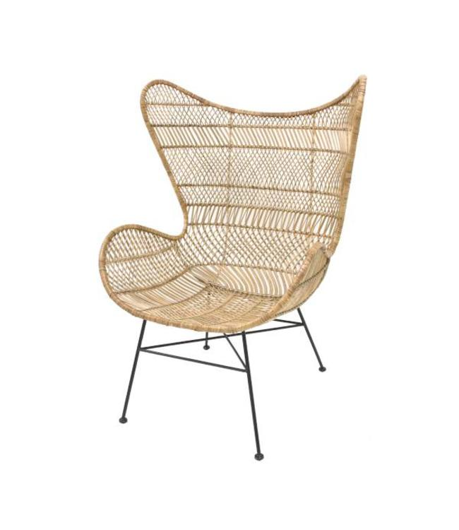 Wunderbar HK Living Sessel Bohemian Egg Chair
