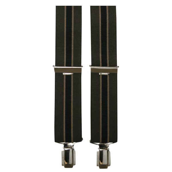 K&C 915  Bretelles de grandes tailles Brun