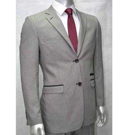 V&H Suits 200 Costume  de grandes tailles Gris Clair