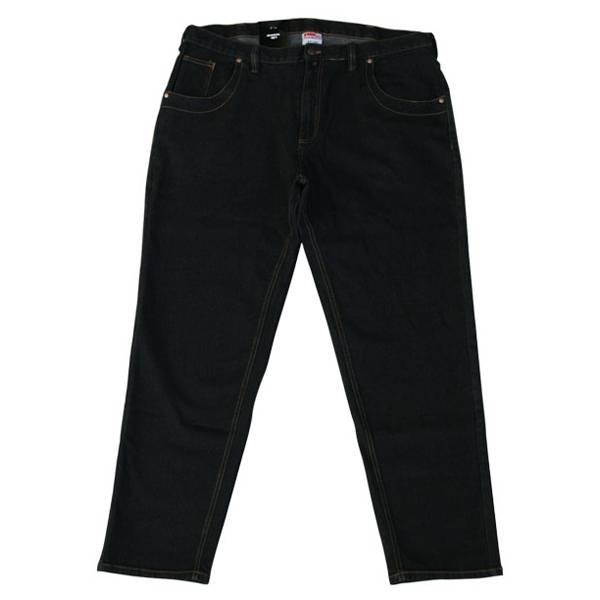 JeansXL 401 Grote maten Zwarte Stretch Jeans
