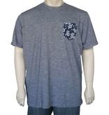 Kingsize Brand T2231 Grote maten Navy Blue T-shirt