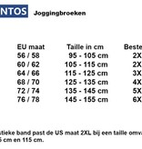 JackSantos J3001 Grote maten Charcoal Joggingsbroek