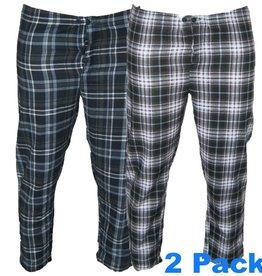 Kingsize Brand 8563 Pantalon de Pyjama de grandes tailles (2-pack)