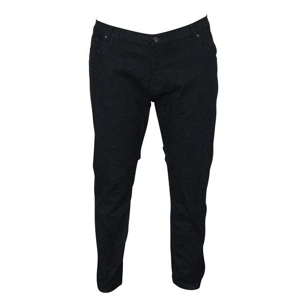 KMS 490 Grote maten Zwarte Stretch Jeans