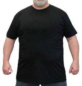 Kingsize Brand TS100 T-shirt de grandes tailles Noir