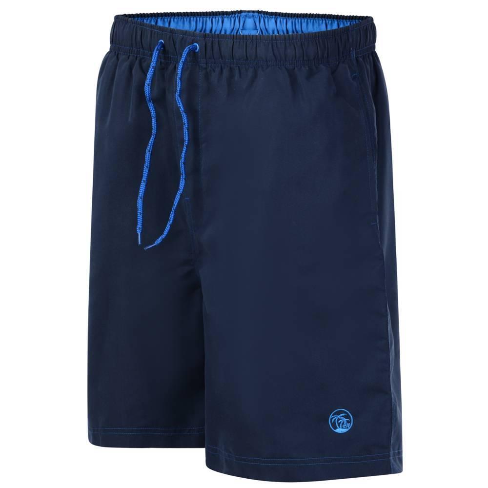 Kingsize Brand SW572 Short de bain de grandes tailles Navy Blue