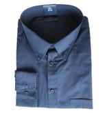 Kingsize Brand LS610 Chemise de grandes tailles Bleu Marine (manches longues)