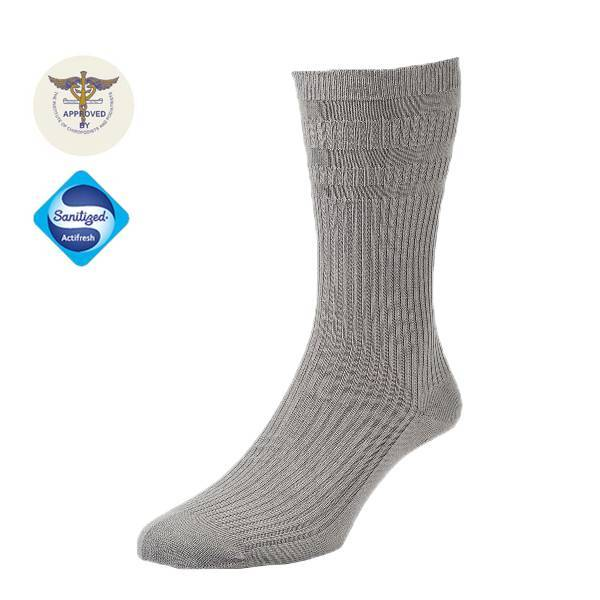 19105 Chaussettes Bambou extra-larges - Gris