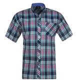 Kingsize Brand SH279 Navy - Grote maten heren overhemd