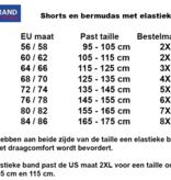 Kingsize Brand ST149 Mole - Grote maten heren Cargo Short