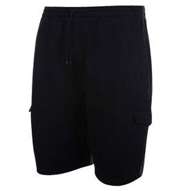 Kingsize Brand LW001 Grote maten Zwarte Jogging shorts