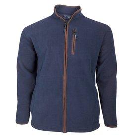 Kingsize Brand 1700 Veste Polaire de grandes tailles Bleu Marine